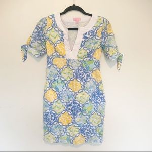 Lilly Pulitzer Monkey and Lemons Cotton Dress